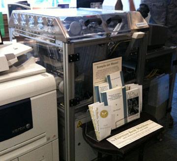 espresso book machine locations