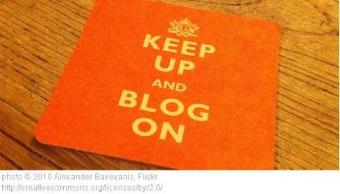 Keep Calm Blog On